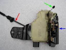 vwvortex com mkiv door locks explained why you re having the picture below shows the lock module separated into its two major parts the electronics portion circuit board microswitches etc indicated by the