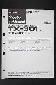 pioneer tx 301 tx 905 tuner original additional service manual pioneer tx 301 tx 905 tuner original additional service manual wiring diagram