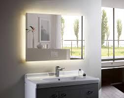 Led Backlit Bathroom Mirror Doherty House Gorgeous Backlit