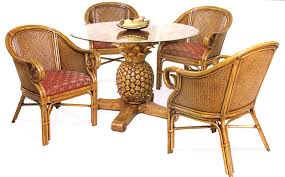 rattan table base wicker rattan dining table and chairs