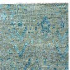 h safavieh ikat ivory blue area rug