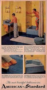 Retro Bathrooms Mesmerizing AmericanStandard Bathrooms Vintage Ads Pinterest 48s Ads