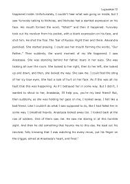 short story writing sample 12