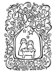Nativity Free Coloring Pages On Art Coloring Pages