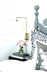 Bedroom Swing Arm Wall Sconces Sconce Plug In For Vintage Industrial Classy Bedroom Swing Arm Wall Sconces