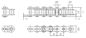 Ansi Roller Chain Dimensions How To Measure Chain Chain