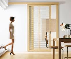Modern Interior Sliding Doors Wonderful Barn Door Sliding Room Divider With Clear Glass In Light