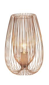 Jonas Brown Copper Wire Table Lamp