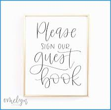 Please Sign Our Guestbook Free Template Marvelous Please Sign Our