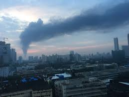 """Priyanka Vasudevan on Twitter: """"Fuel tank at Butcher Island, #Mumbai  accidentally catches on fire. Costs to a heavily polluted #city?  #Tellyourpollutionstory… https://t.co/OiP5vD8IPQ"""""""