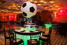 Soccer Ball Centerpiece Decorations Have a Ball With These Soccer Theme Bar or Bat Mitzvah Ideas Jew 2