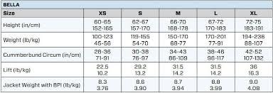 Scubapro Hydros Pro Size Chart Scubapro Bcd Size Chart Scuba Pro Size Chart Anchor Dmc