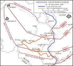 ardennes battle of the bulge in 1944 the germans counterattacked across the ardennes and the meuse valley but they were eventually thwarted after fierce battles