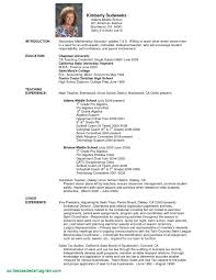 Sample Resume Of A Teacher In High School Resume Template