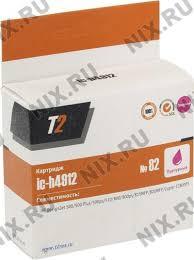 Купить <b>Картридж T2 ic</b>-<b>h4912</b> (<b>№</b>82) Magenta для HP DJ 500/510 ...