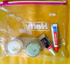 toiletry bag tsa rules