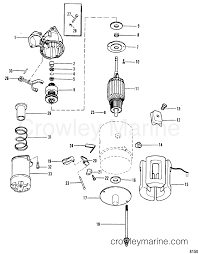 starter motor(delco remy 1998317) 1990 mercruiser 3 0l [alpha i 5 Wire Alternator Wiring Diagram 1990 mercruiser 3 0l [alpha i] 430b00001 starter motor(delco remy