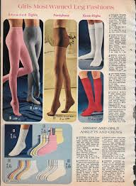 tiny lot of vintage catalog hose tights photo clippings