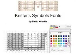 Knitting Charts Free 4 Different Ways To Make Knitting Charts Part 1 Office