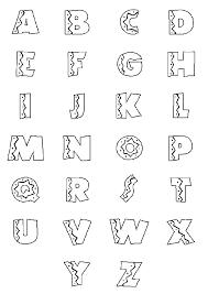Kleurplaten 3d Letter C Woyaoluinfo