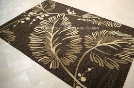 tropical rugs 8x10 indoor outdoor area rugs lovely tropical coastal beach palm brown home design 3d