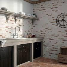 rustic masonry brick effect tiles