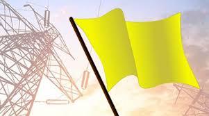 Conta de luz fica com bandeira amarela em janeiro, diz Aneel