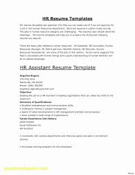 Generic Resume Unique Generic Resume Template Inspirational General