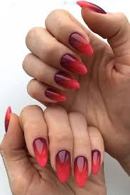 45 Glam Ideas For Ombre Nails Plus Tutorial Nehty Gelové Nehty