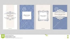 Vintage Card Templates For Wedding Invitations Beauty Industry