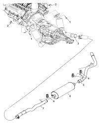 2007 dodge dakota exhaust system mopar parts giant