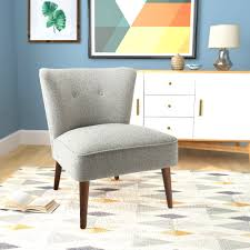 armless accent chair gray k7043 f2232 main