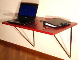 diy wall mounted folding desk all home ideas and decor build fold down table uk