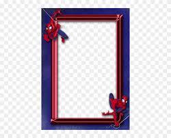 spider man clipart border spiderman frame 1171857