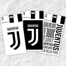 Juventus Tris Mini Adesivi Adesivi Da Parete E Decorazioni Di