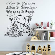 disney font wall stickers luxury winnie the pooh baby bedroom best beautiful disney baby boy