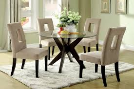 dining room small round pedestal table high end gloss gray set polished rectangular hardwood centerpieces