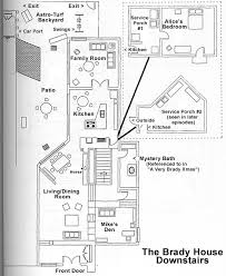 brady bunch house interior pictures. brady bunch house map floorplans interior pictures n