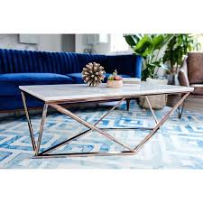 marble gold coffee table aria rose gold coffee table with white marble top room gold marble