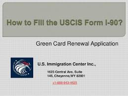 i 145 immigration form how to fill the uscis form i 90