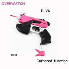 Dva Light Gun Rabake Overwatch Dva Light Gun 13 Cm With Infrared Function