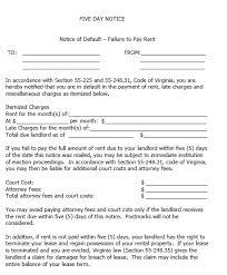 5 day eviction notice illinois form 30 day eviction notice form virginia oyle kalakaari co
