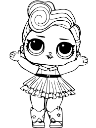 This 7 layers of fun doll has taken over the world by storm and its popularity is only increasing with every passing day. Christmas Lol Doll Coloring Pages Novocom Top