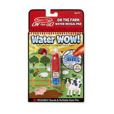 Water WOW! Farm - ON the GO Travel Activity Toys for 2 Year Old | 2-3 Melissa \u0026 Doug