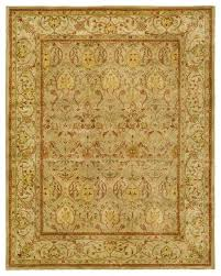 persian legend wool hand tufted moss and beige rug