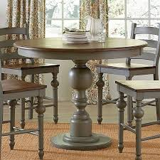 decoration willow round counter height table distressed white progressive intended for counter height round table