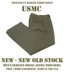 Usmc Dress Blues Size Chart Details About New Usmc Military Mens Alpha Charlie Trousers Uniform Pants Usmc Service Dress