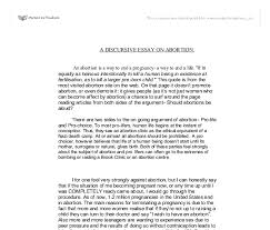 abortion essays co abortion essays