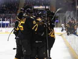 P Bruins Overcome Three Goal Deficit Defeat Hershey Bears