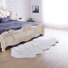 Large White Fur Rug | Wayfair